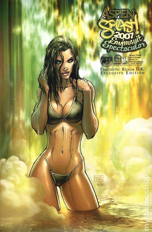 2009 Swimsuit Spectacular #1  Michael Turner   1st Print  CGC 9.8 Aspen Splash