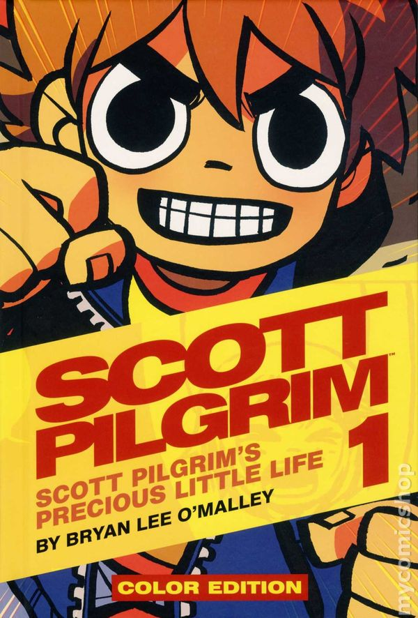 Scott Pilgrim Hc 2012 2015 Oni Press Color Edition Comic Books