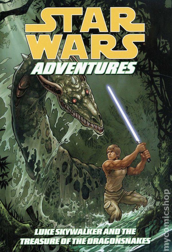 Star Wars Adventures Luke Skywalker Treasure The Dragonsnakes Tpb 1 Rep Nm 2010 Ebay