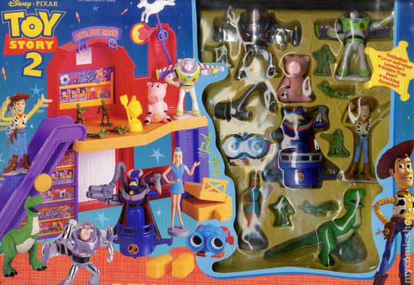 Toy Story Action Figures Set : Toy story comic books issue