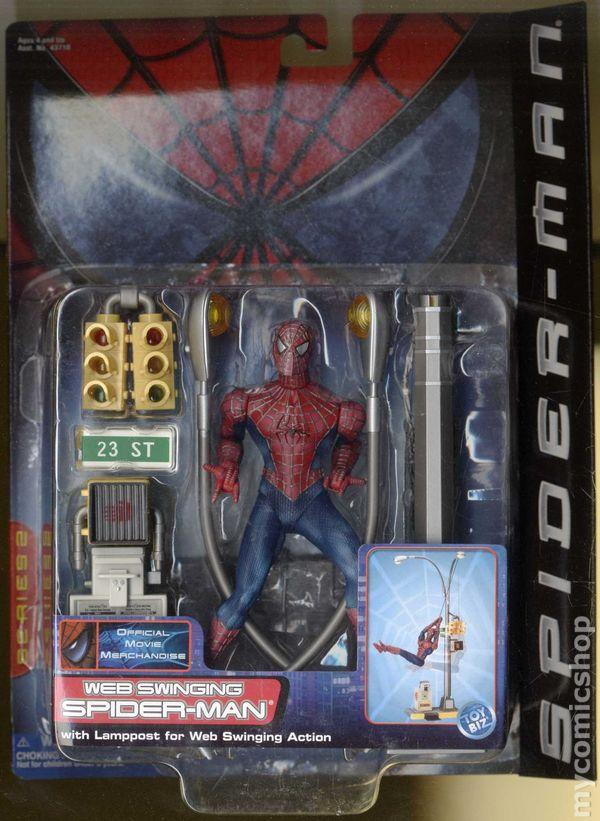 Spider Man The Movie Action Figure 2002 Toy Biz Series 2