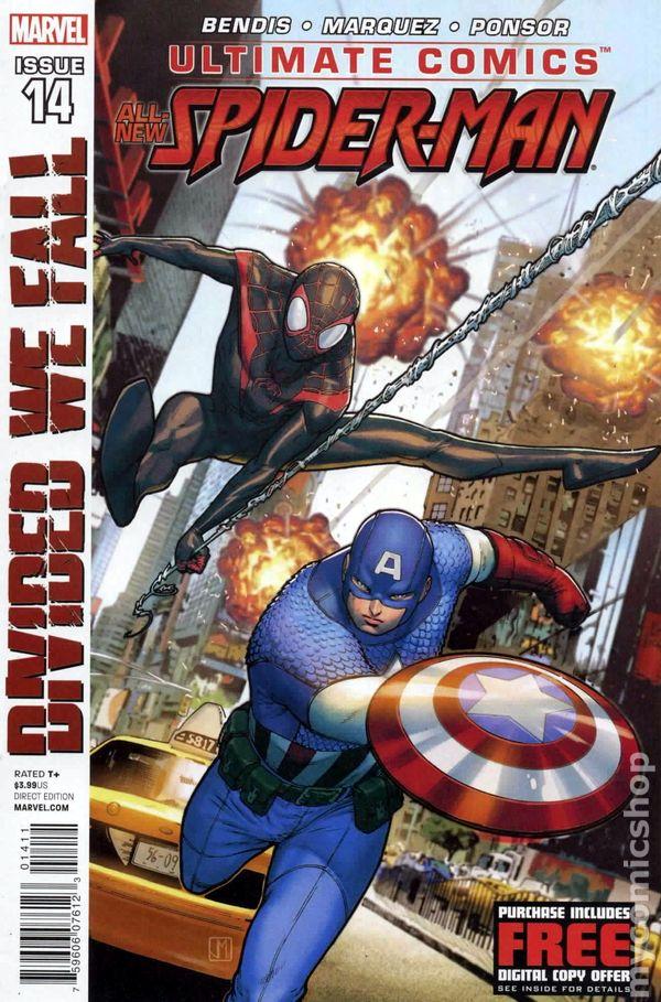 Comic books in 39 ultimate marvel divided we fall 39 - Marvel spiderman comics pdf ...