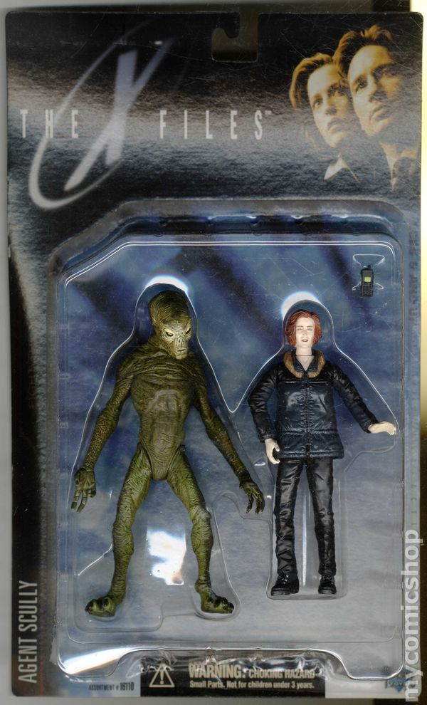 xfiles fight the future action figure 1998 mcfarlane