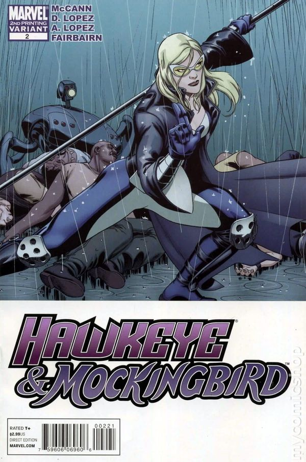 Hawkeye And Mockingbird 2010 2B