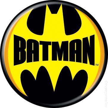 Batman Logo Button 2012 Ata Boy Comic Books