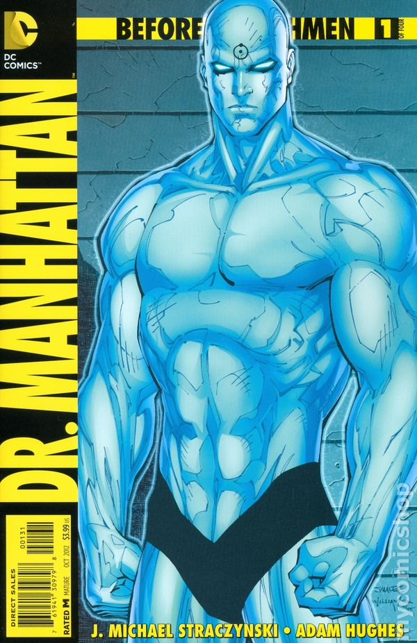 Before Watchmen Dr Manhattan Comic Books Issue 1
