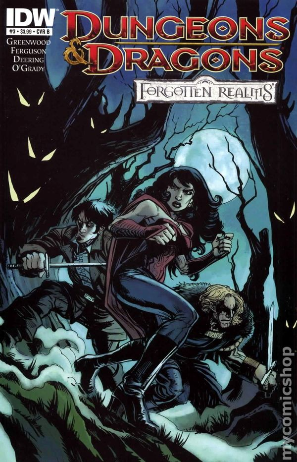Forgotten Realms comic books issue 3