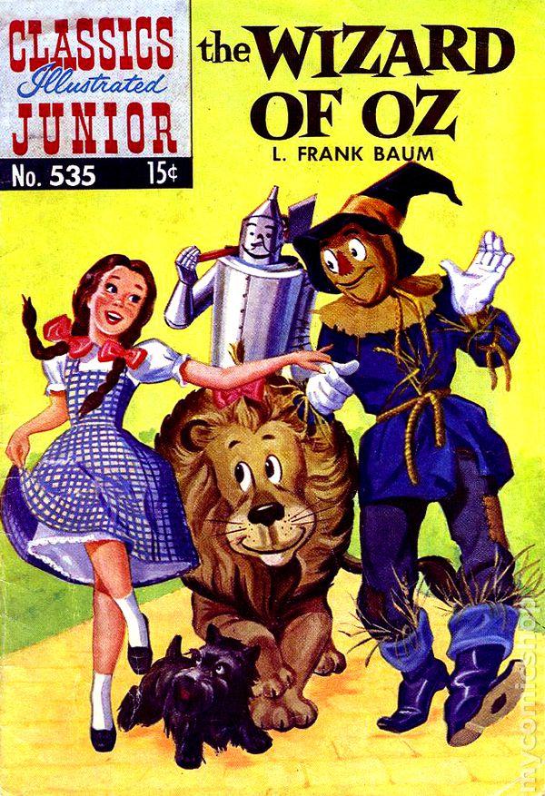 Classics Illustrated Junior comic books issue 535