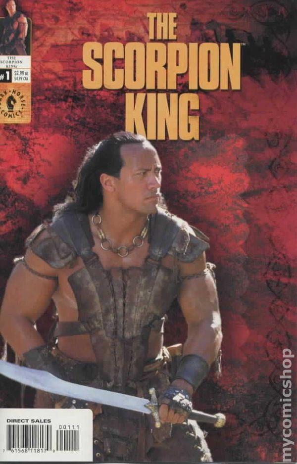 Scorpion King 2002 Photo Cover Comic Books