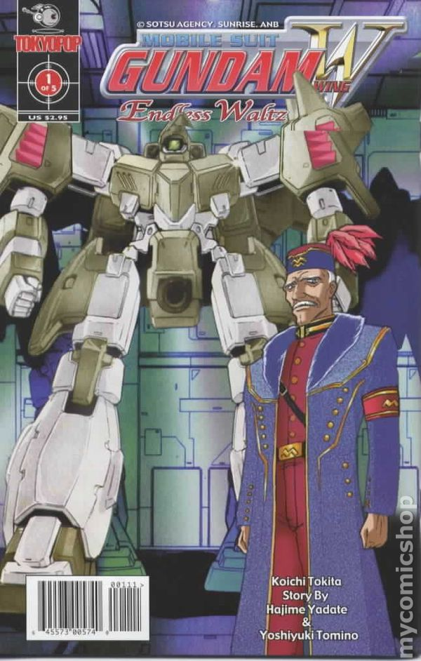 Mobile Suit Gundam Wing Endless Waltz 2002 Comic Books