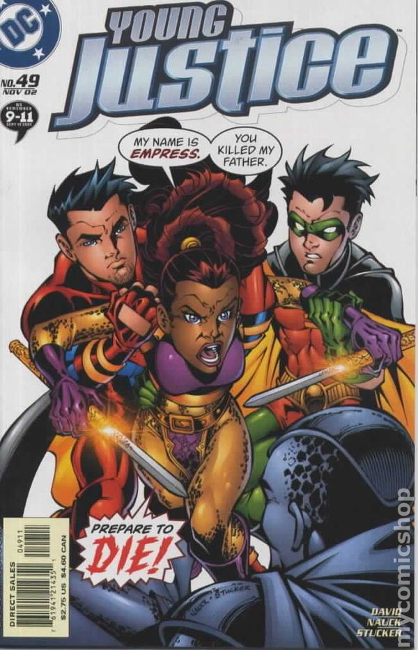 Young Justice #2 1998 FN Stock Image