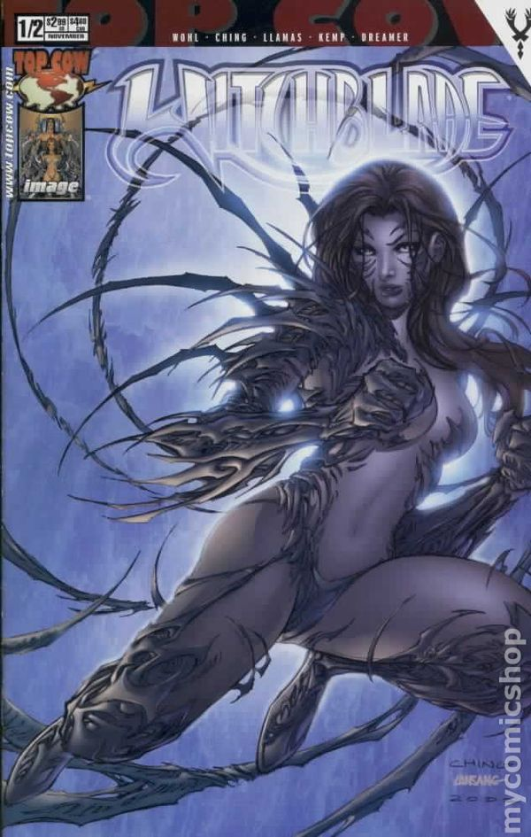 Witchblade Spring Pin-Up 1A FN 1997 Stock Image