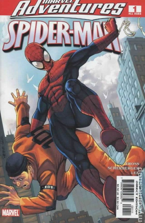 Marvel Adventures Comic Books