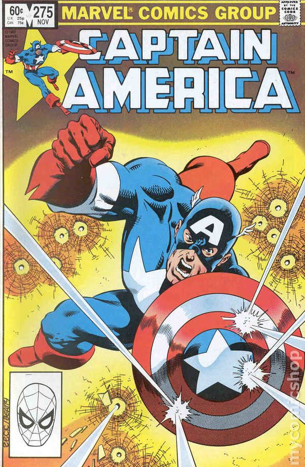 Captain America Comic Book #269 Marvel Comics 1982 VERY FINE