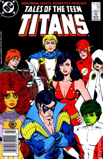 Tales of the teen titans did not