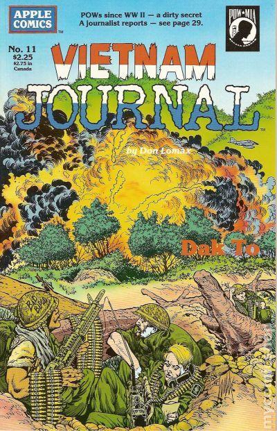 Vietnam Journal #5 VF 7.5 1988 Stock Image