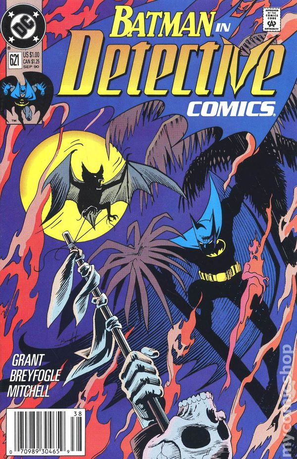 Batman Detective /'90 623 VF Z0