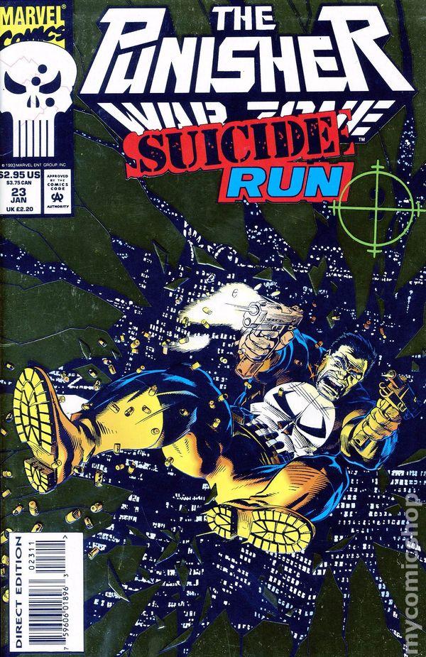PUNISHER #62 VERY FINE// NEAR MINT 1992 MARVEL COMICS