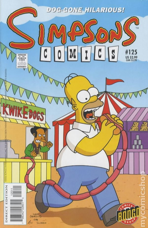 SIMPSONS COMICS #115 NEAR MINT 1st SERIES 1993
