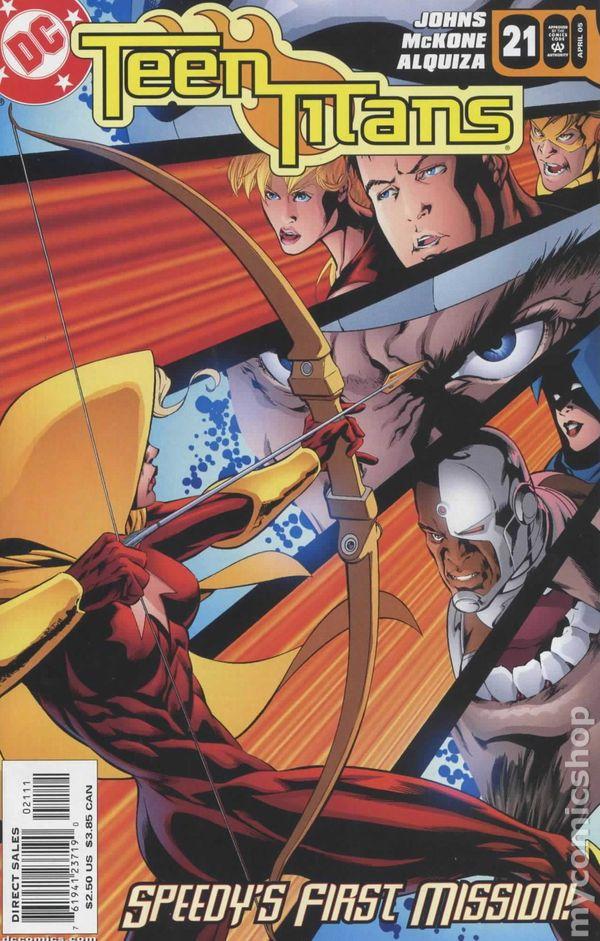 Teen Titans 2003-2011 3Rd Series Comic Books-3134
