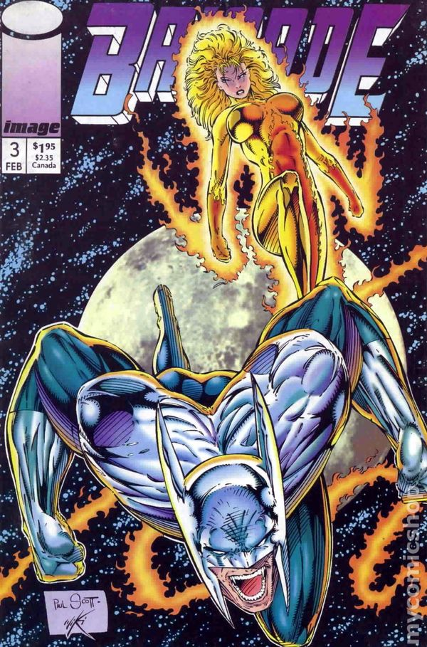 Brigade (1992 1st Series) comic books