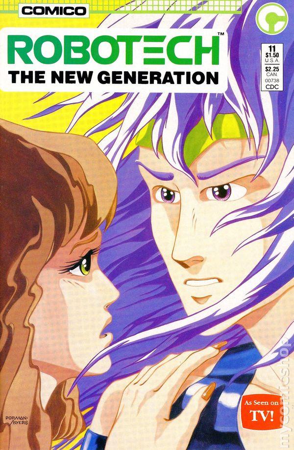 Robotech Masters Comic Book #11 Comico 1986 NEW UNREAD