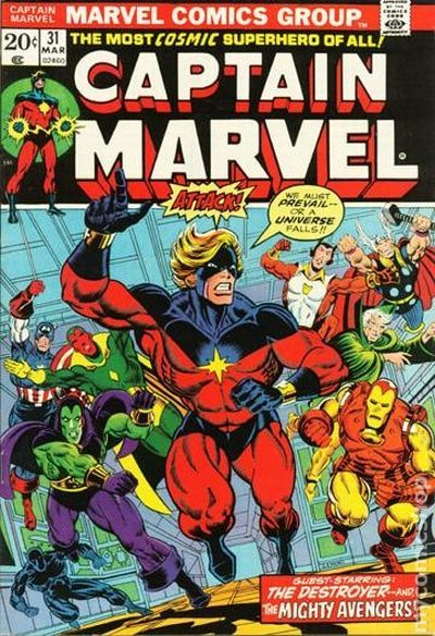 captain marvel 31