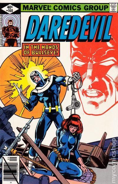 Image result for daredevil 160 book