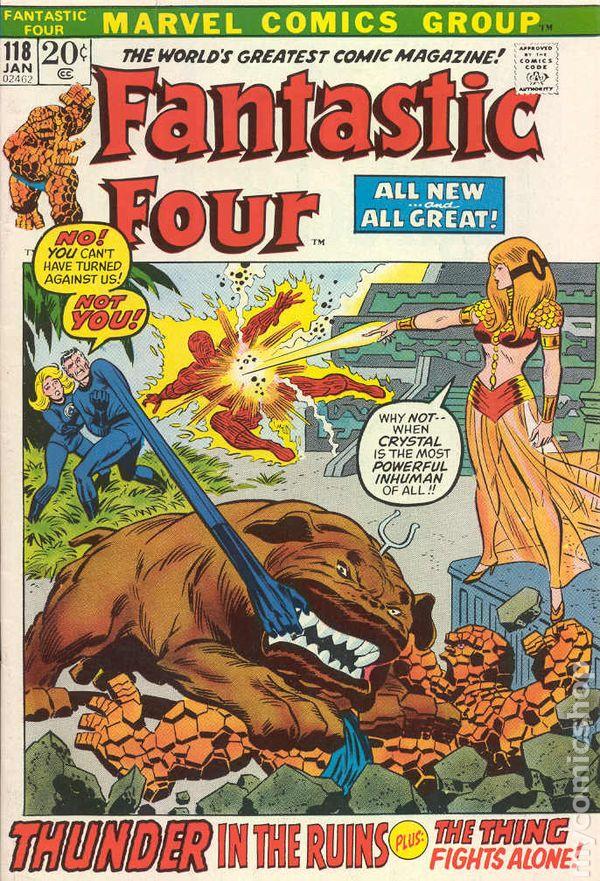 Fantastic Four 104 VG 1961 CBX 2