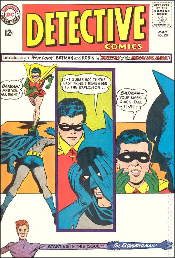 Detective Comics Comic Books Issue 327
