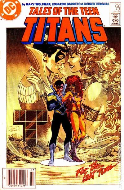 NEW TEEN TITANS TALES OF #55 NEAR MINT 1980