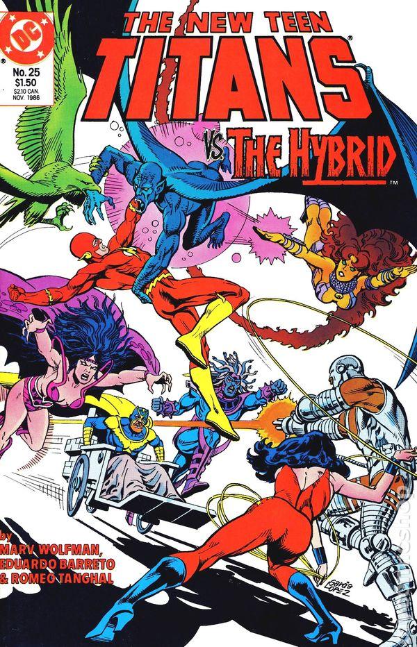New Teen Titans 1984 2Nd Series New Titans Comic Books-7653