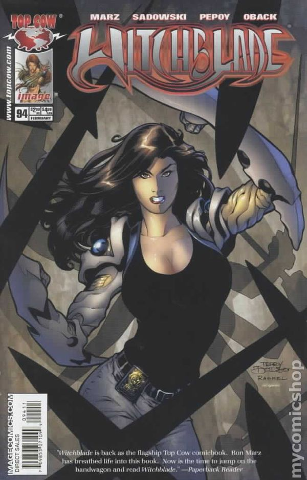 Witchblade #94 February 2006 Top Cow Image Comics Marz Choi Oback Sandowski