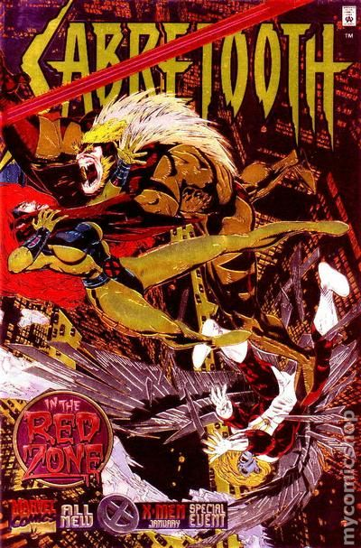 Image result for Sabretooth: In the Red Zone