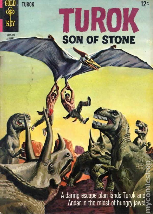 Turok Son Of Stone 1956 Dell Gold Key Comic Books 1966