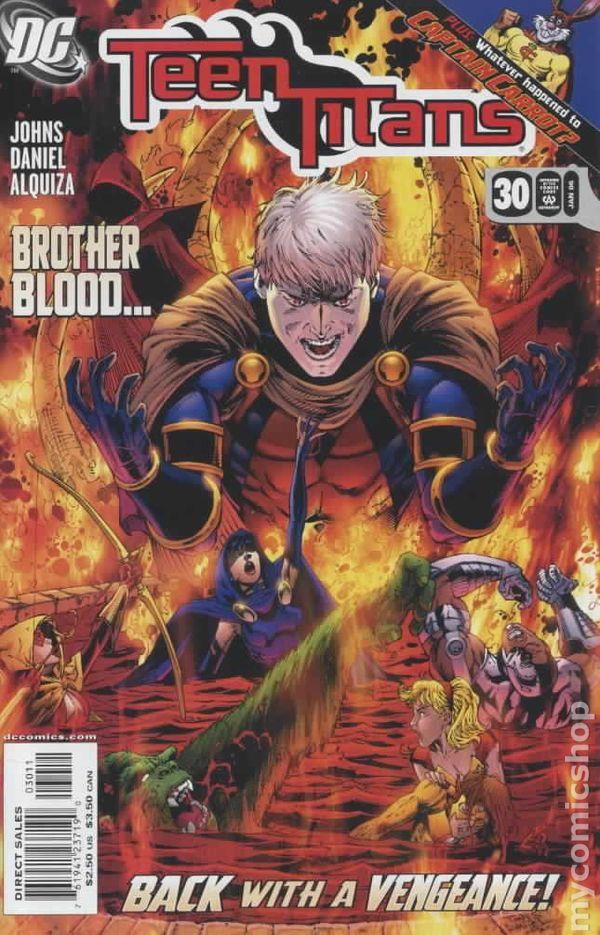 Teen Titans 2003-2011 3Rd Series Comic Books-1114