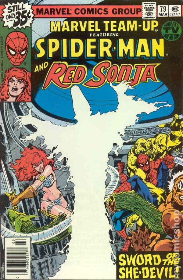 Comic Books In Spider Man Red Sonja