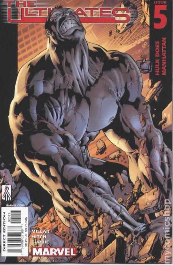 Ultimates 2002 series # 7 near mint comic book