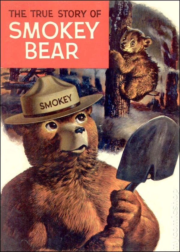 Smokey Bear 1959 Promotional Comic Books Smokey The Coloring Pages