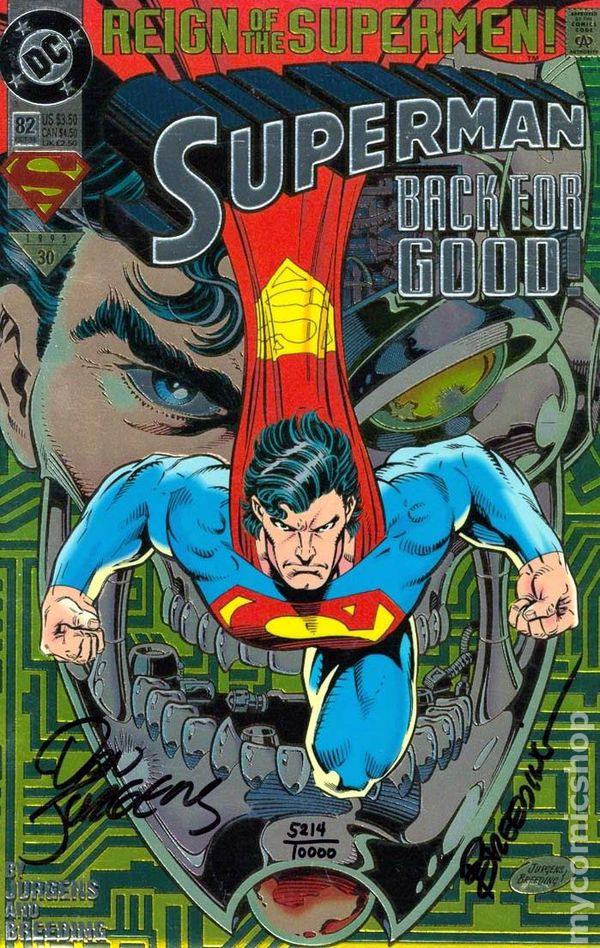 Superman Comic Books Issue 82