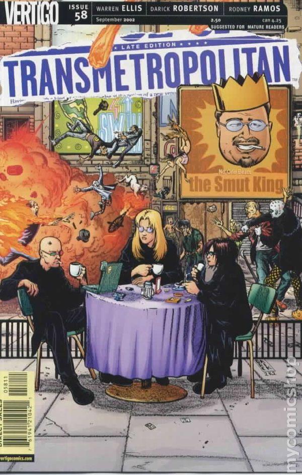 Transmetropolitan 1997 Comic Books