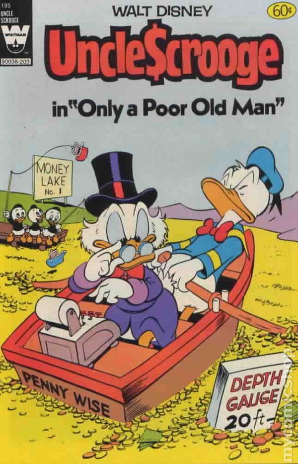 Uncle Scrooge 1972 Whitman 195