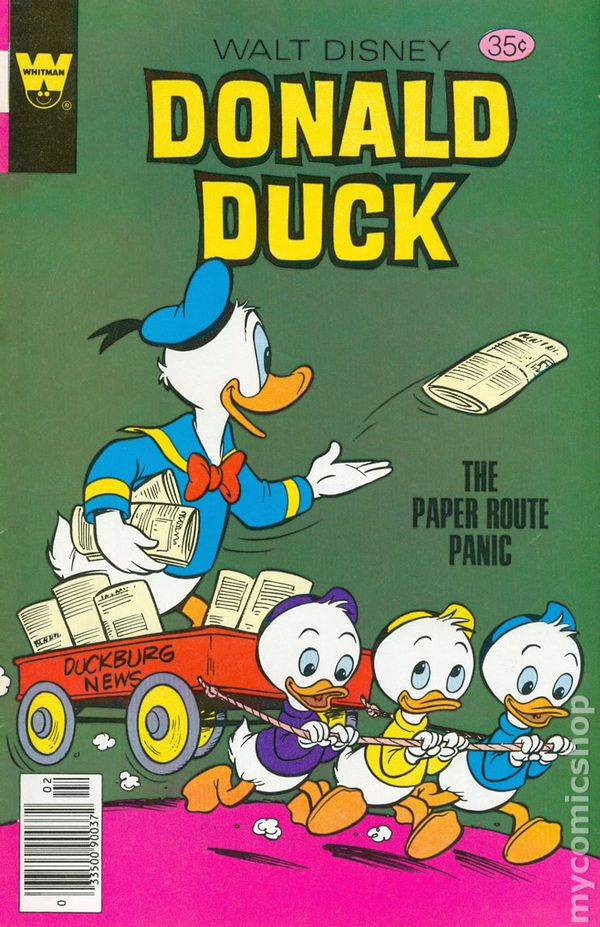 donald duck 1972 whitman variants comic books. Black Bedroom Furniture Sets. Home Design Ideas