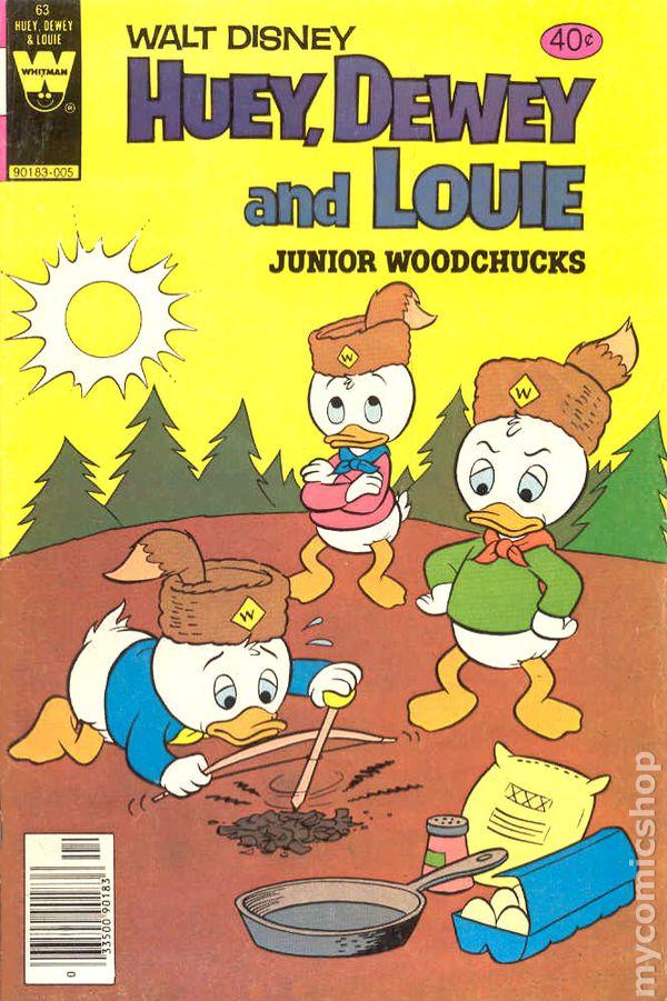 9.2 Huey Dewey and Louie Junior Woodchucks 80 NM-