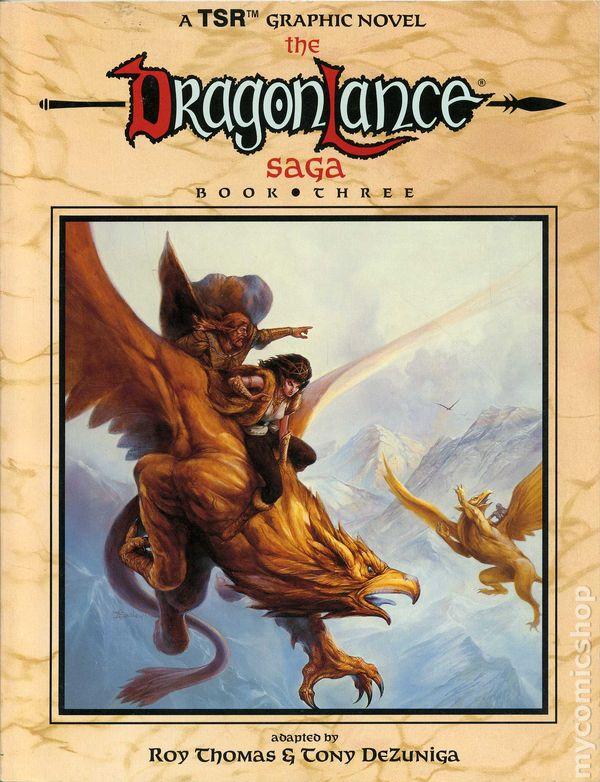 1988 DC Comics w// TSR *COPPER AGE* DRAGONLANCE #1 First Issue VF//NM Comic Book