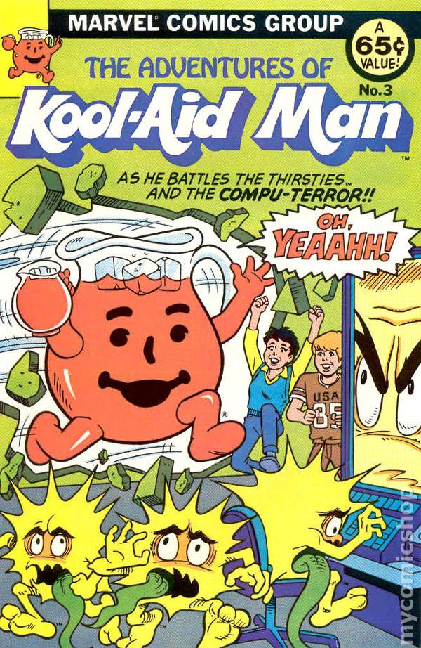 Adventures of Kool-Aid Man (1983 Marvel) comic books