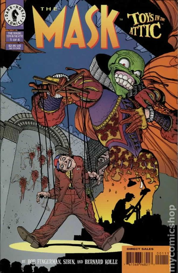 Mask Comic Books Issue 1