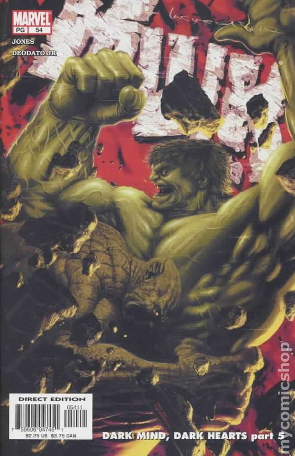 1ST PRINTING MARVEL KNIGHTS COMICS 2004 THE INCREDIBLE HULK #75 SPECIAL