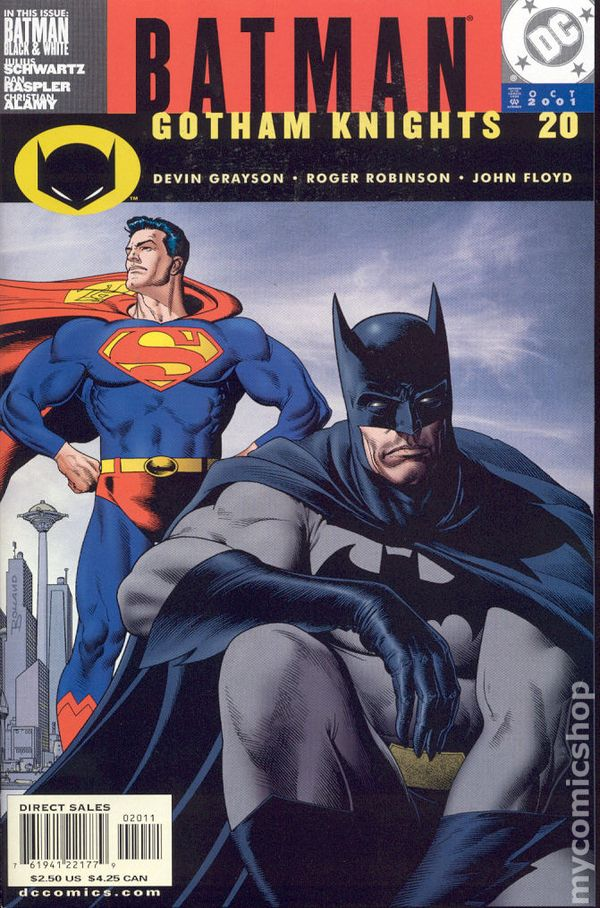 BATMAN GOTHAM KNIGHTS #28 NEAR MINT 2002 DC COMICS
