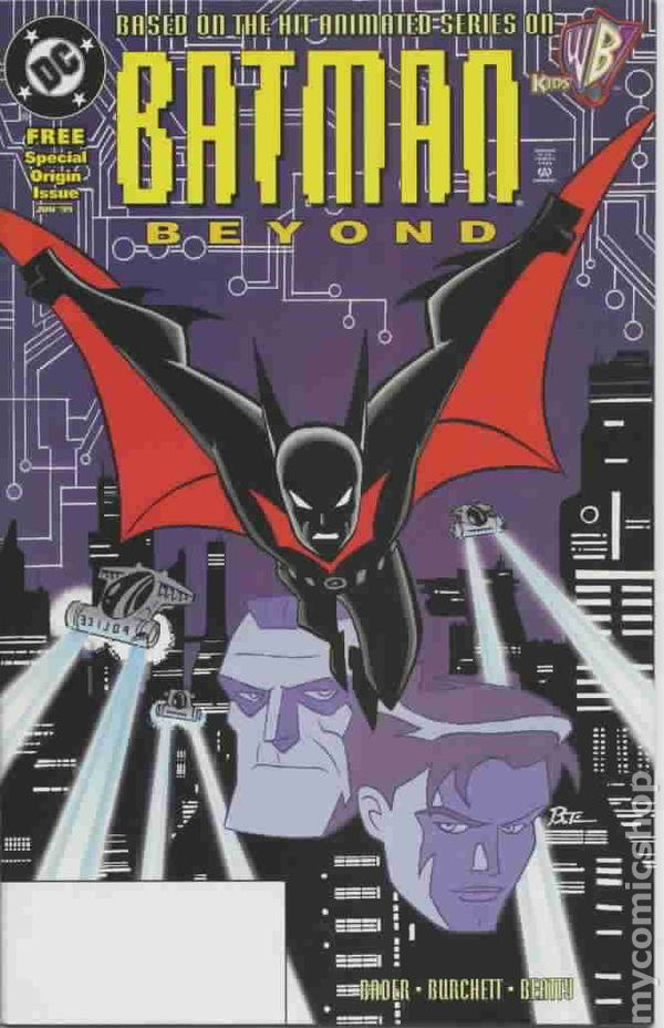 Batman beyond special origin issue 1999 comic books voltagebd Image collections